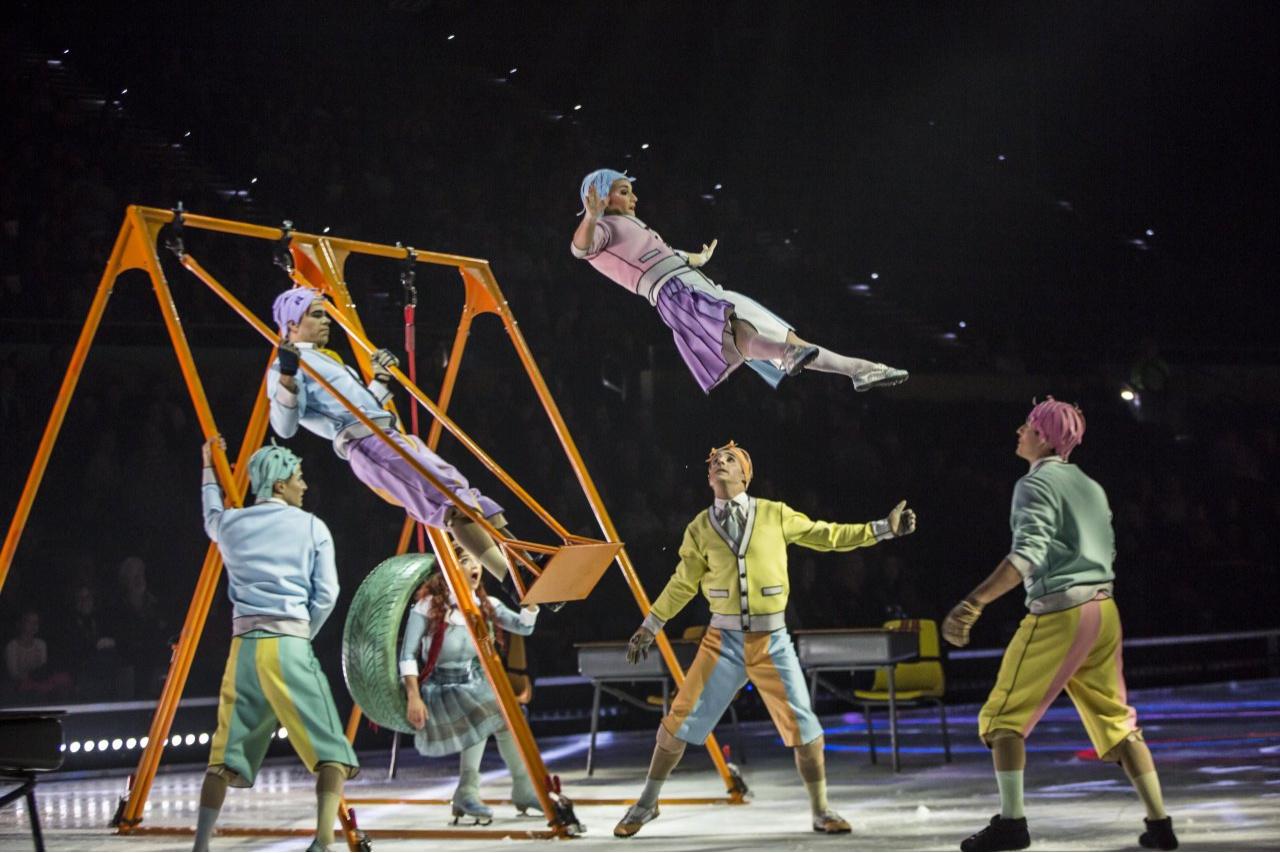 Солнце коснулось льда: Cirque du Soleil теперь на коньках