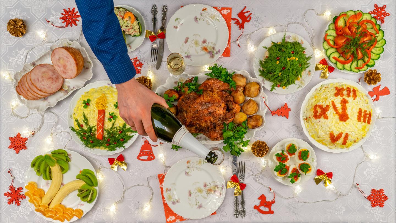 Пир на весь мир: как сервировать новогодний стол?
