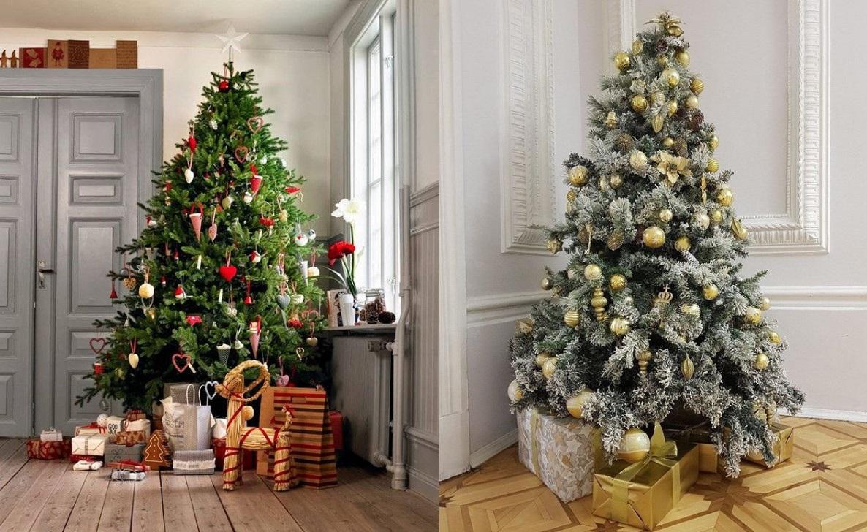 Как стильно украсить новогоднюю елку?