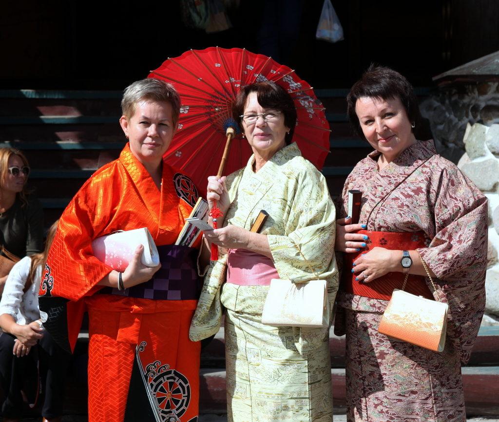 Япония приехала в Россию: празднование Нового года в Кремле
