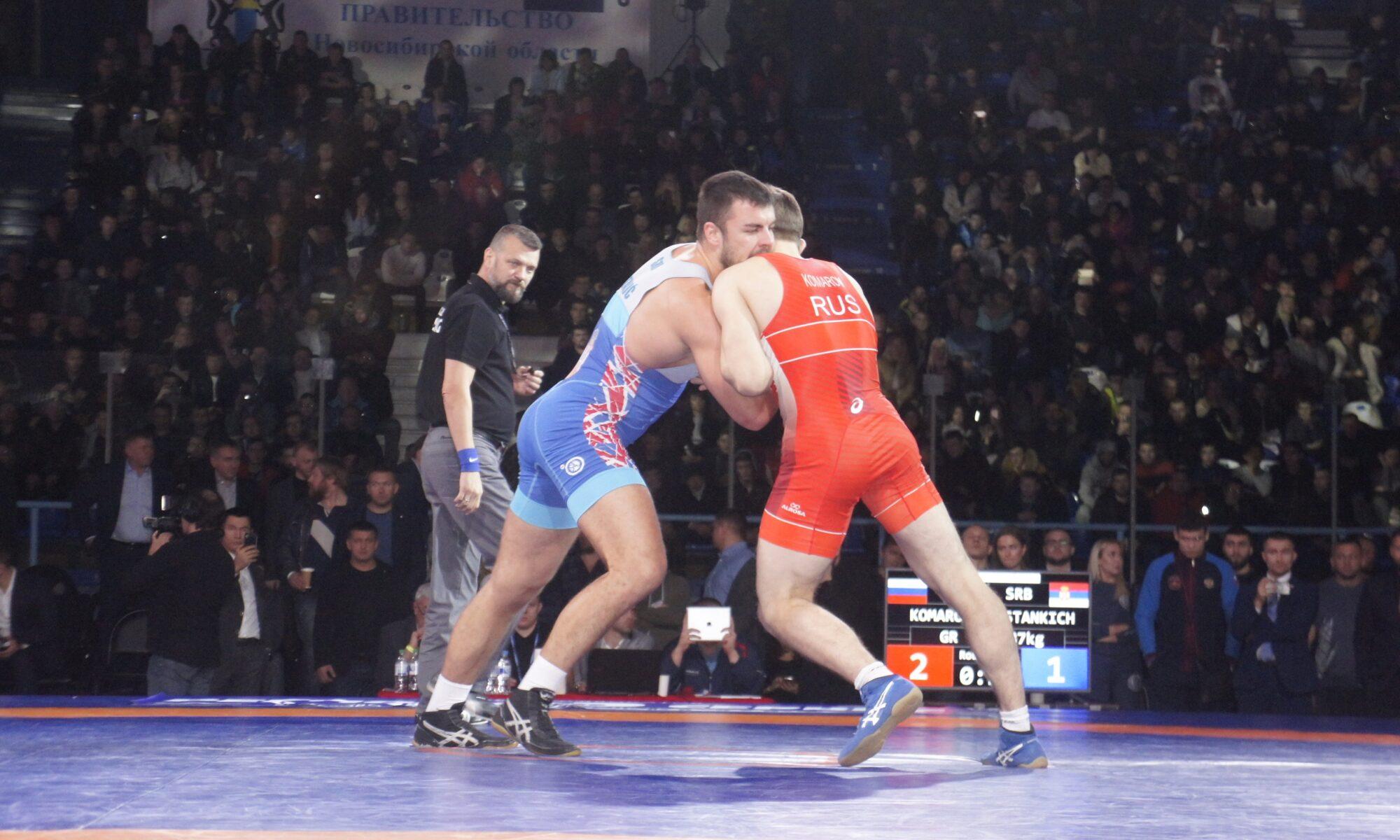 Борьба в Сибири: как проходит чемпионат России по Греко-Римской борьбе