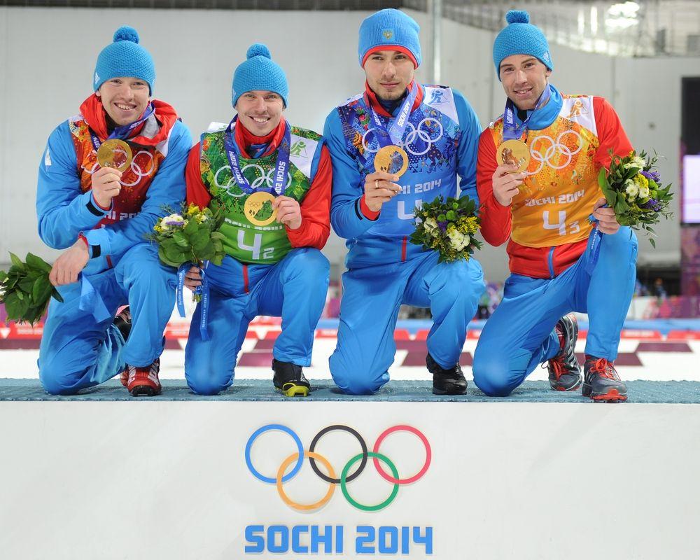У России отбирают медали Сочи 2014