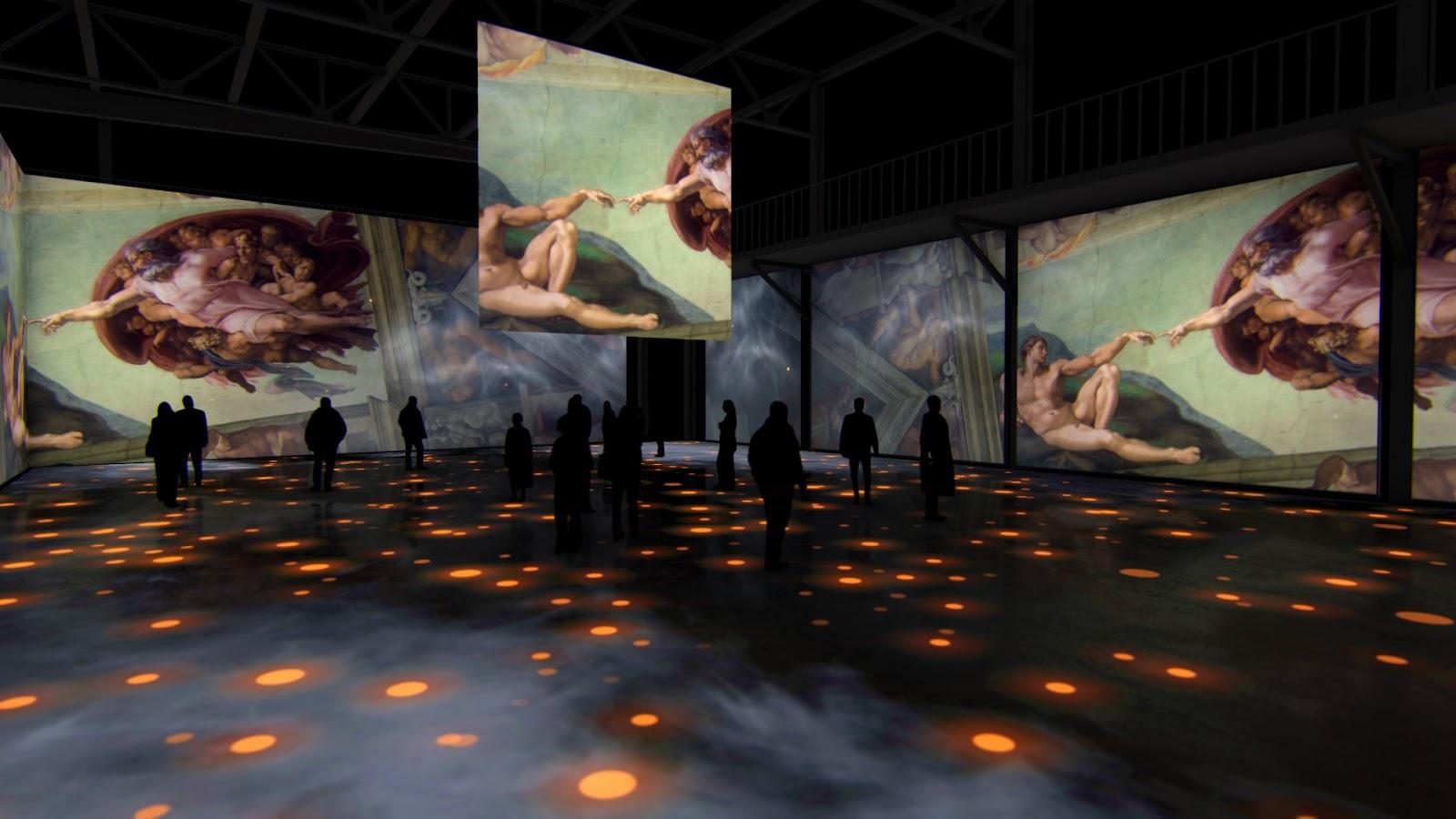 О том, как прошла выставка «Микеланджело. Сикстинская капелла» в Артплее