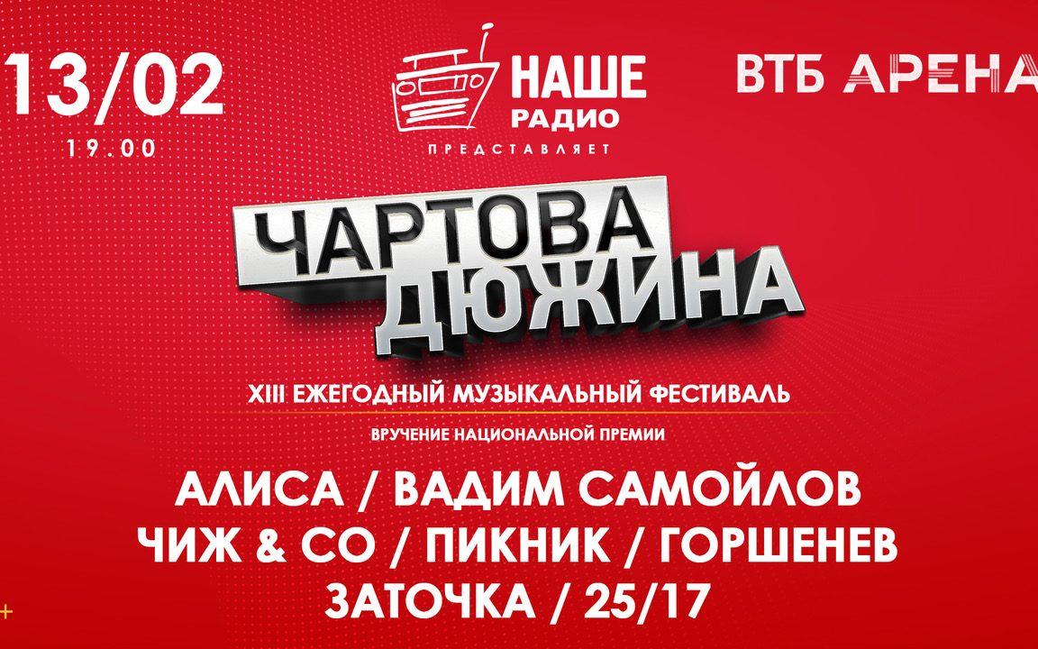 «Чартова дюжина» или о том, как прошла 13-ая ежегодная музыкальная премия в Москве