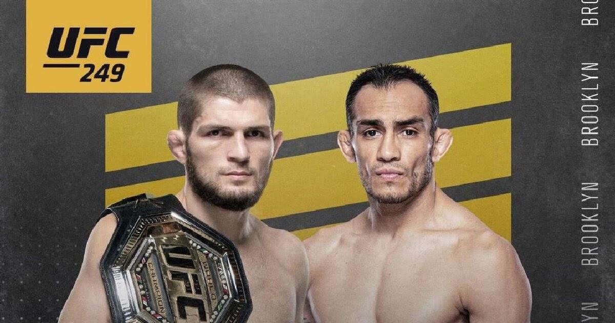 UFC 249 перенесён на неопределенный срок из-за пандемии коронавируса