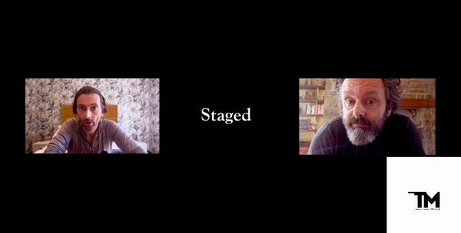 Майкл Шин и Дэвид Теннант снова вместе: новый сериал про актеров на карантине