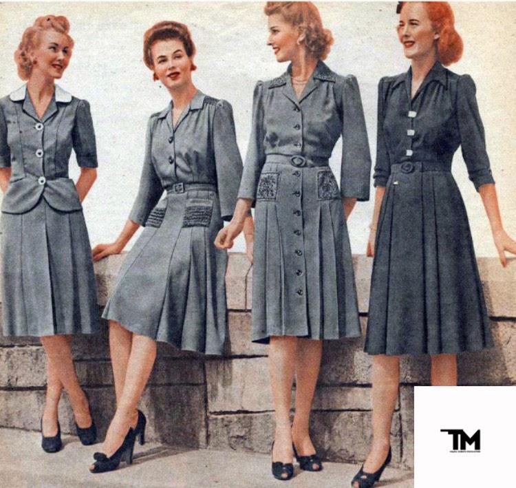 И на войну красивой: мода в военное время