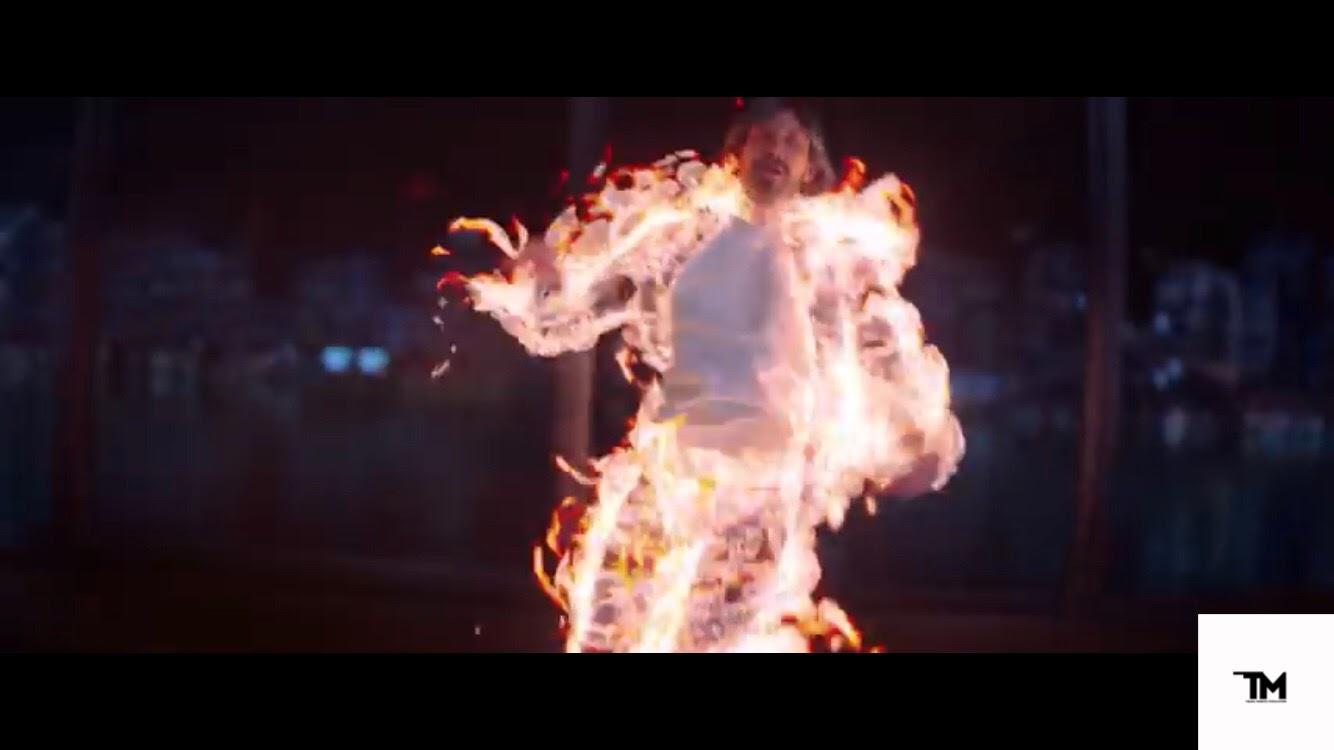 Иван Дорн примерил роль супер-человека в своём новом клипе