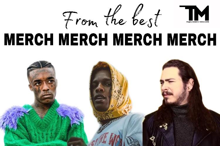 Одежда от Post Malone, A$ap Rocky и не только: лучшие мерчи рэперов