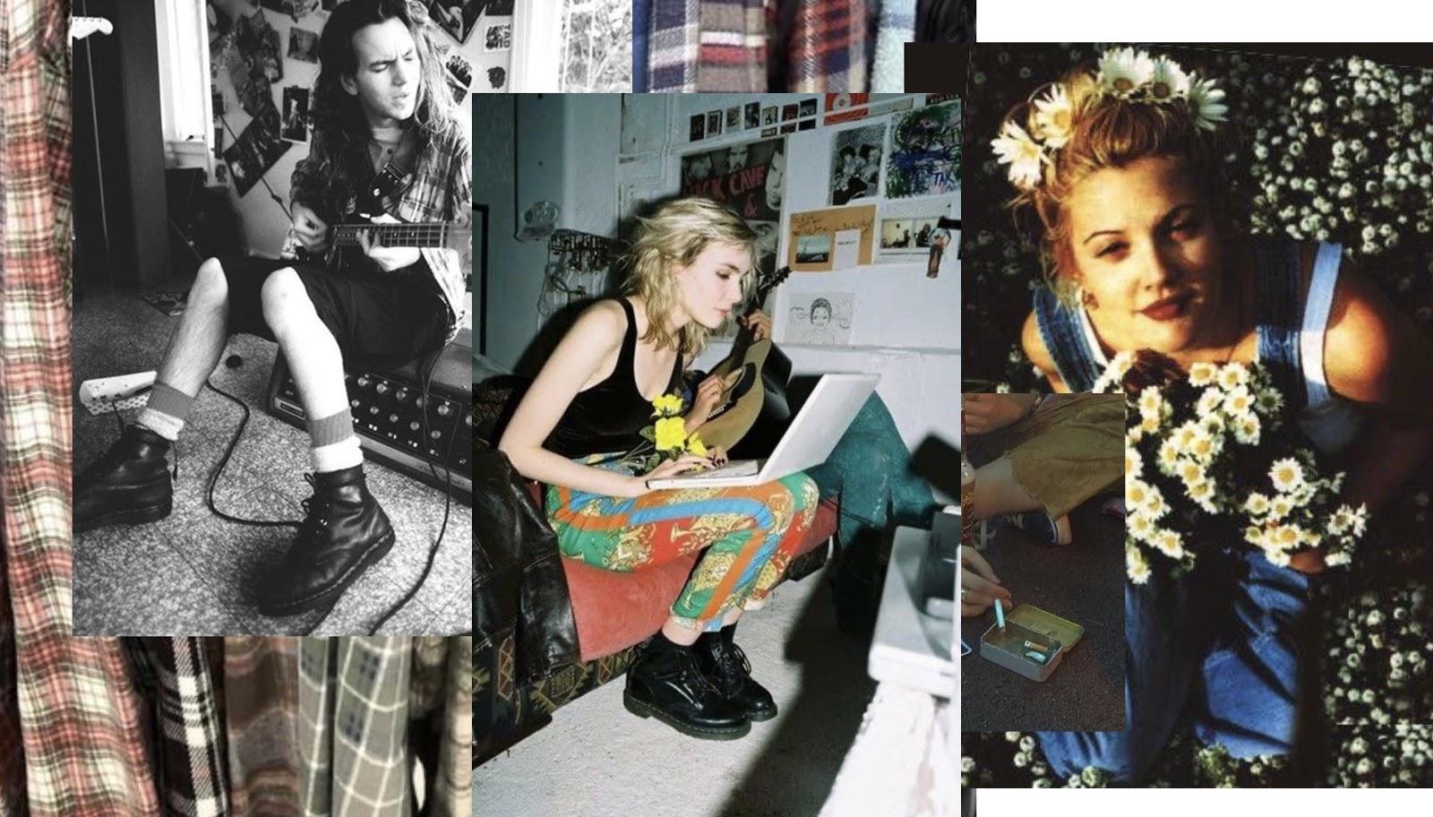 """""""Стильный образ или неопрятность и полное отсутствие вкуса? Гранж-мода — стиль 90-х"""""""