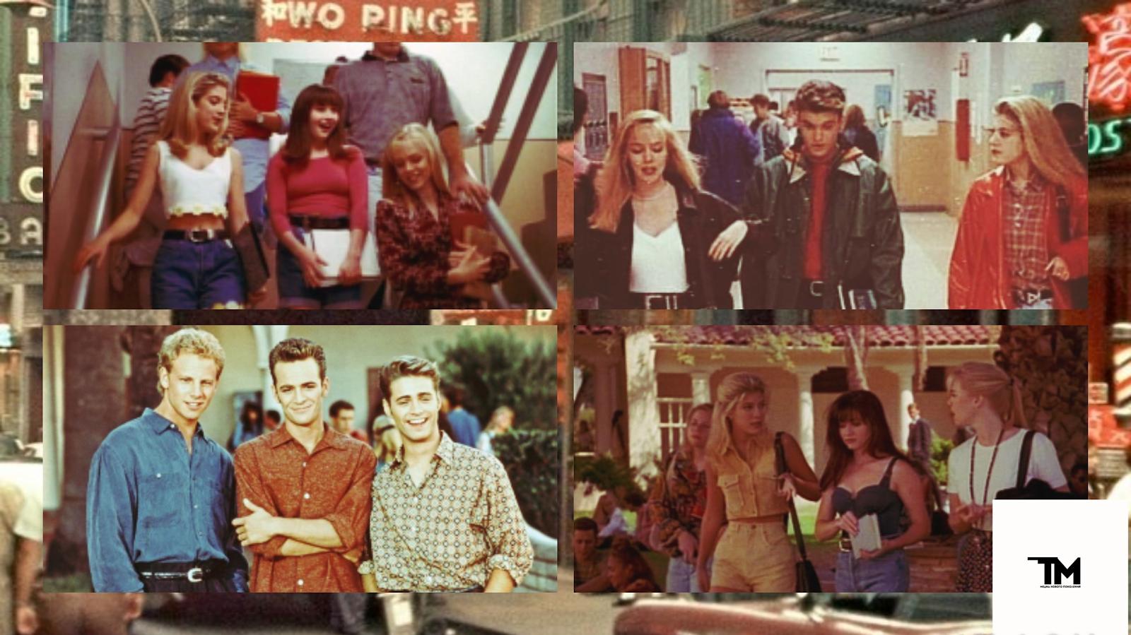"""Американские подростки 90-х: стиль в сериале """"Беверли-Хиллз 90210"""""""