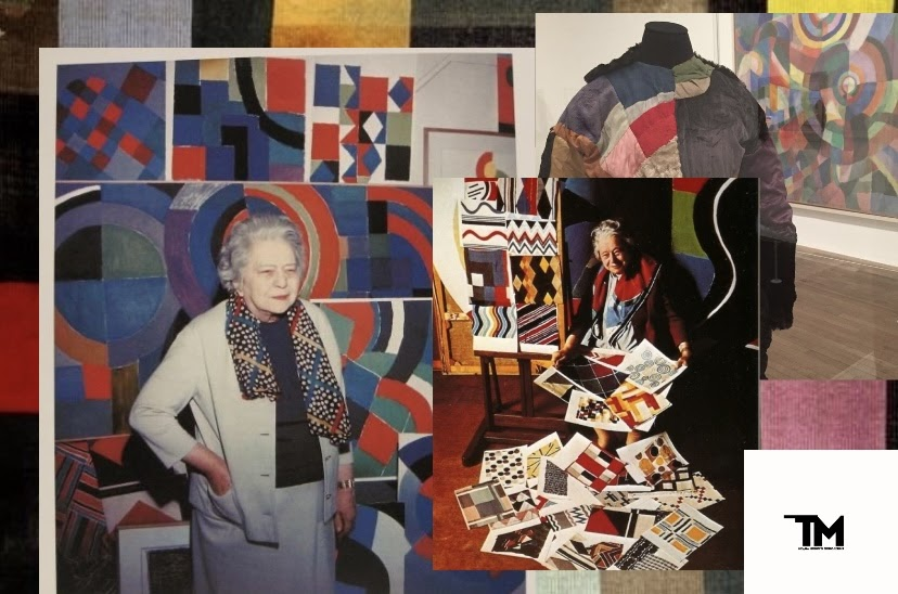 Дизайнер Соня  Терк–Делоне: от одесской девчонки до Леди абстракционизма