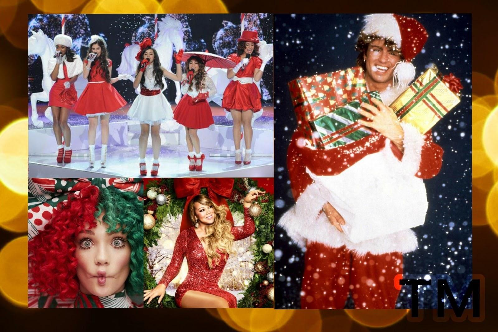 Полный Jingle Bells : новогодние наряды в рождественских клипах