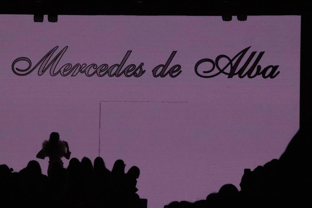 From Spain with love: Mercedes De Alba покоряет российский подиум