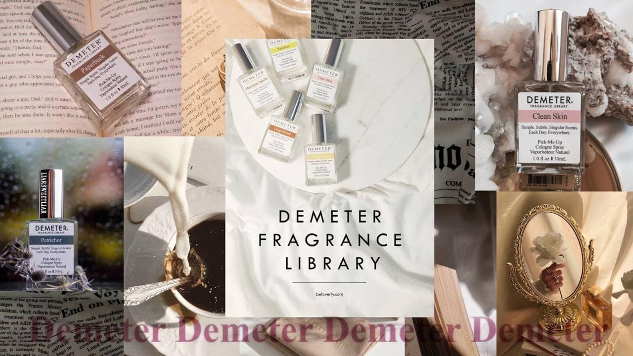 Парфюмерия Demeter: воспоминания в стеклянных колбочках