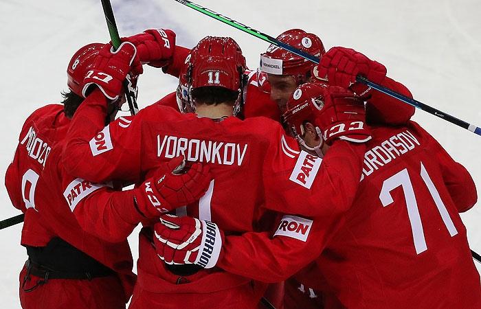 Сборная России обыграла Великобританию на Чемпионате мира по хоккею 2021