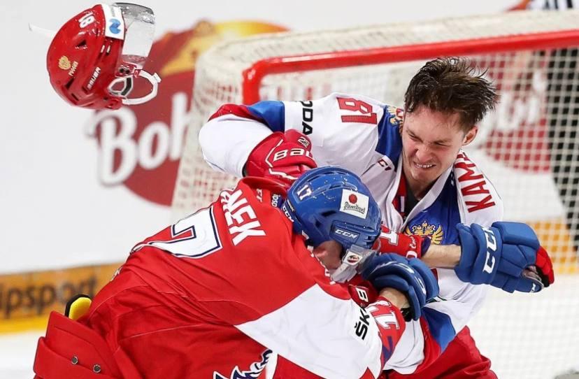 Сборная России обыграла Чехию в стартовом матче Чемпионата Мира по хоккею