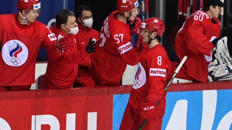 Сборная России победила Данию на Чемпионате мира