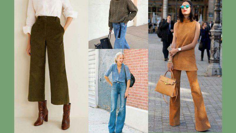 Современная мода на старину: брюки клеш