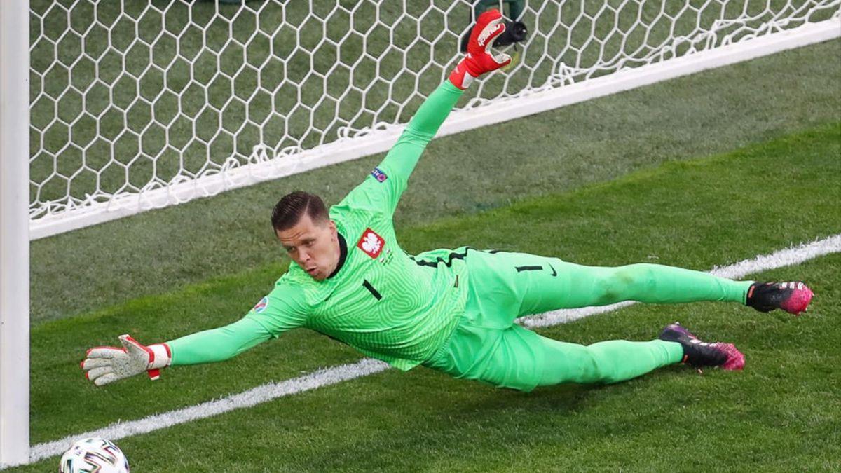 Вратарь сборной Польши Войцех Щенсный – главный неудачник Чемпионатов Европы