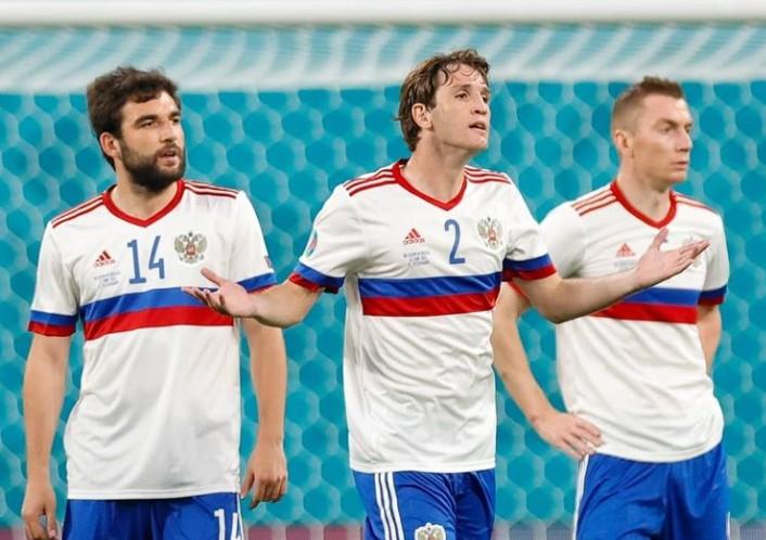 Сборная России по футболу уступила Бельгии в матче Чемпионата Европы
