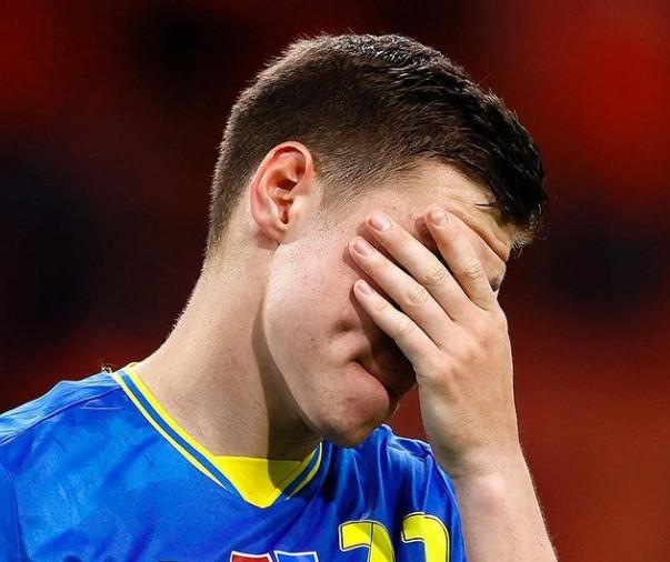 Сборная Украины проиграла Нидерландам в матче ЧЕ-2020 по футболу