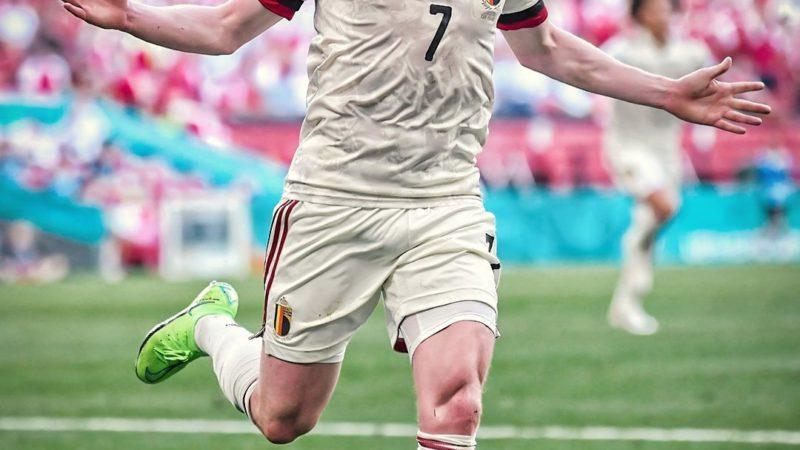 Кевин Де Брюйне принес победу Бельгии и вывел свою сборную в плей-офф