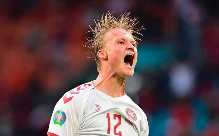 Сборная Дании вышла в четвертьфинал ЕВРО-2020