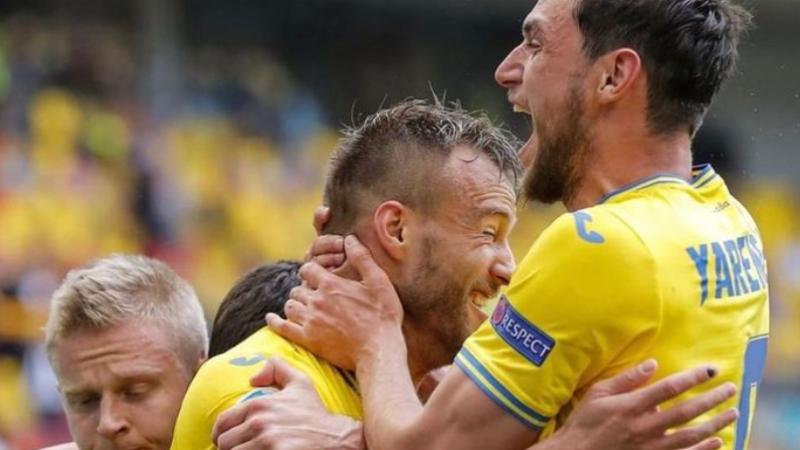 Вторая победа Украины в истории ЧЕ и первая на ЕВРО-2020
