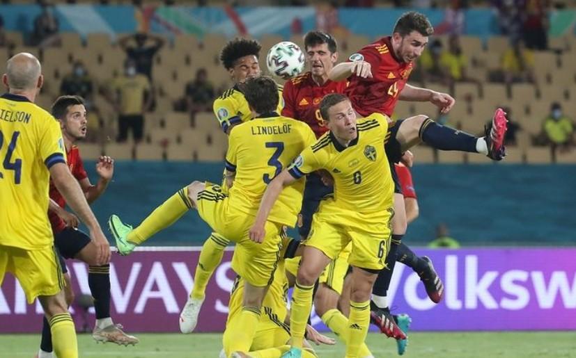 Испания и Швеция сыграли вничью на матче ЧЕ-2020 по футболу