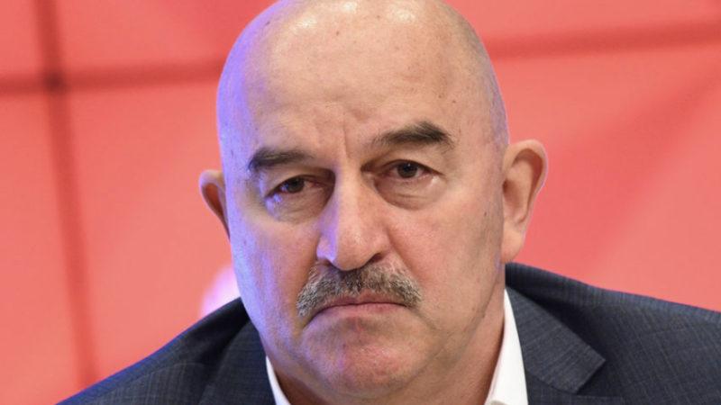 Станислав Черчесов уволен с поста тренера сборной России по футболу