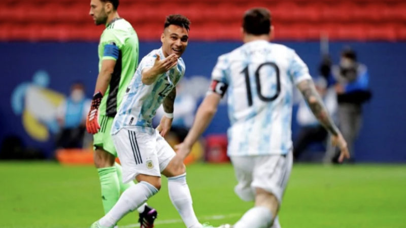 Аргентина обыграла Колумбию в полуфинале Кубка Америки