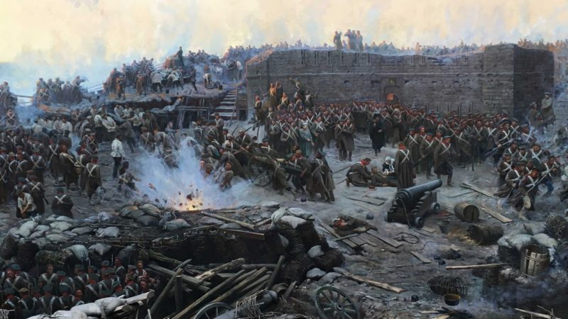 Севастопольская панорама: 360° героической битвы Крымской войны
