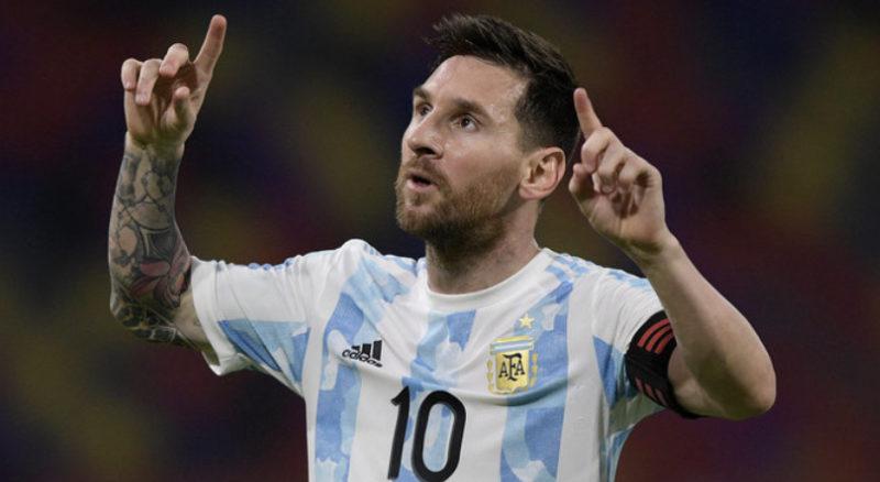 Лионель Месси выиграл первый трофей со сборной Аргентины