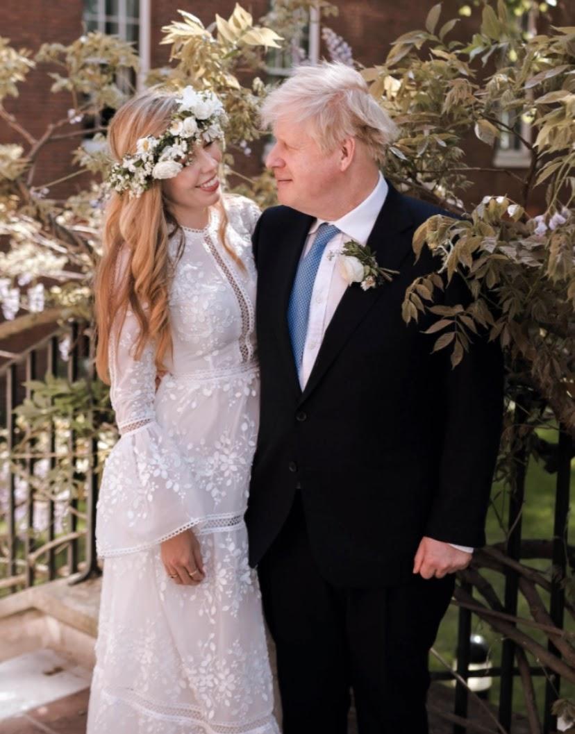 Первая леди не обязана носить эксклюзив: невеста Бориса Джонсона в платье напрокат
