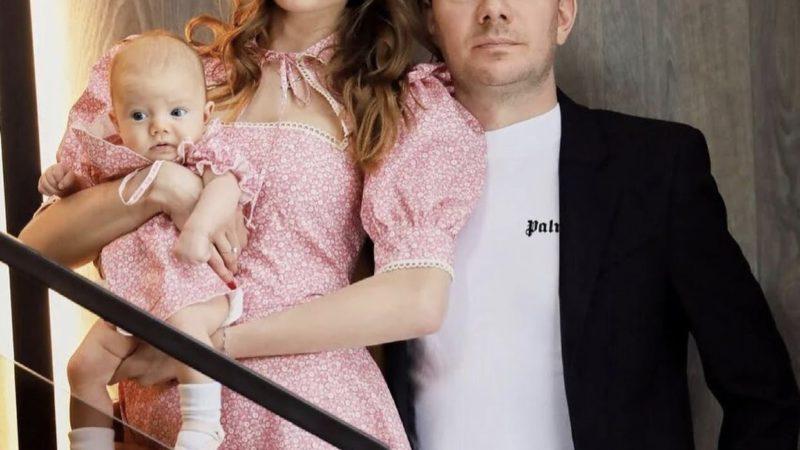 DJ Smash и Анастасия Кривошеева поделились фотографиями дочери