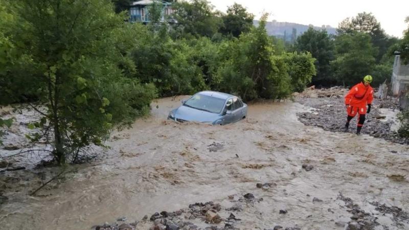 Дожди стали причиной подтопления населенных пунктов Краснодарского края