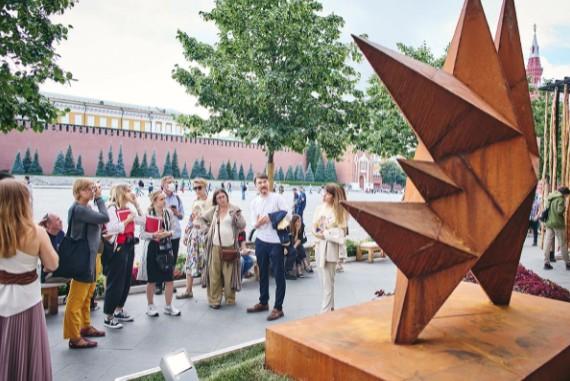 Красная площадь — центр фестивалей