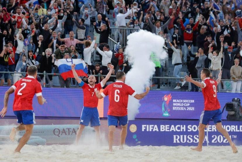 Как сборная России по пляжному футболу выиграла чемпионат мира