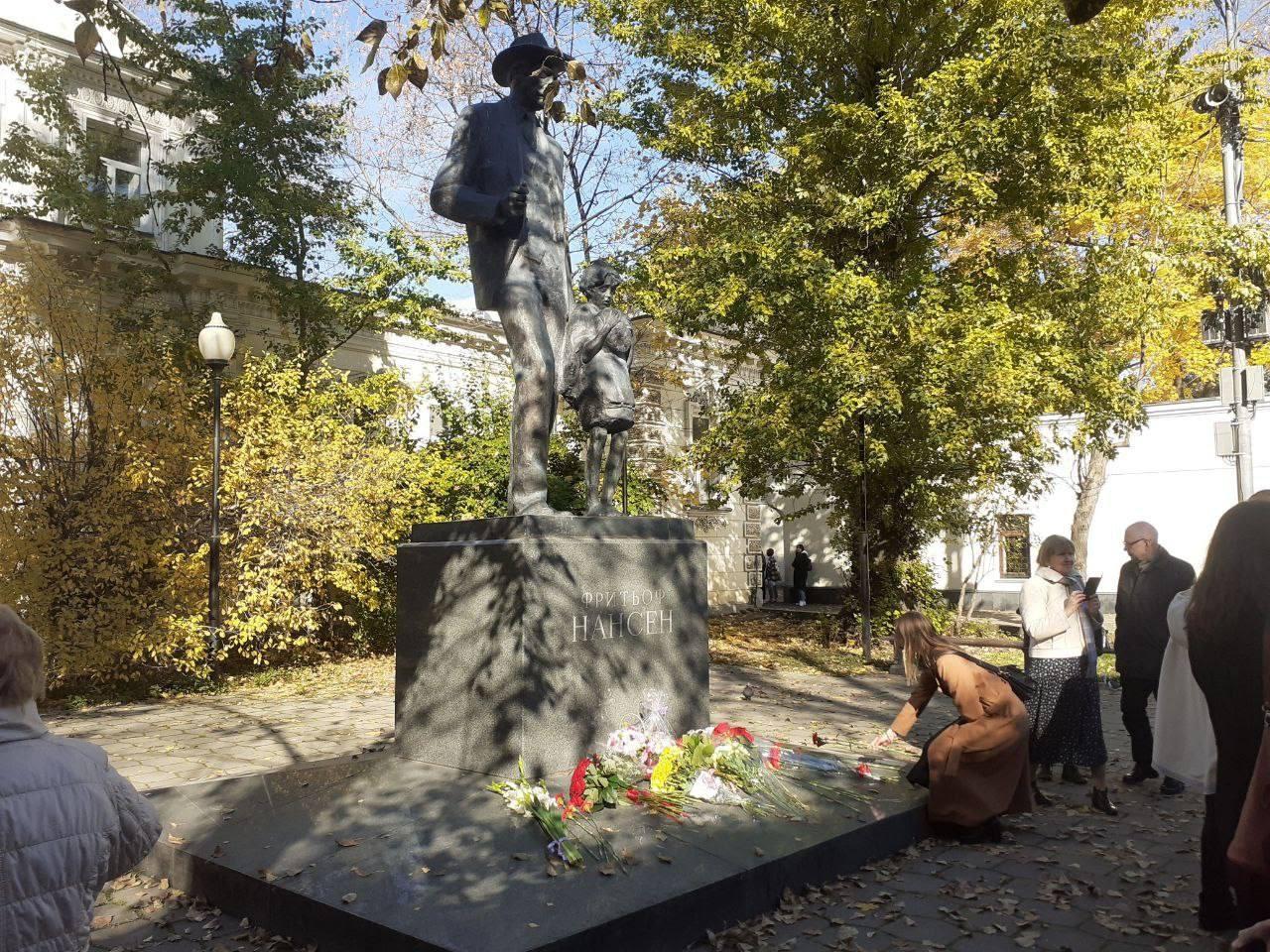 Как отметили день рождения Нансена в Москве